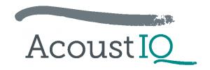 AcoustIQ Logo Warmteplan