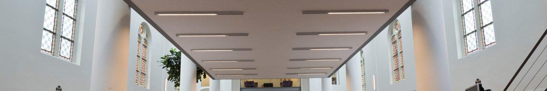 Sprayplan akoestisch plafond