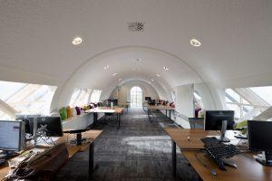 Sprayplan Wit akoestisch plafond